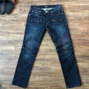 Hudson jeans navy blinder size 30